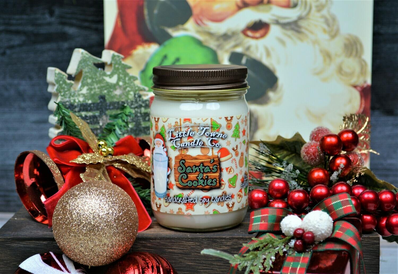 Santa's Cookies -Candles