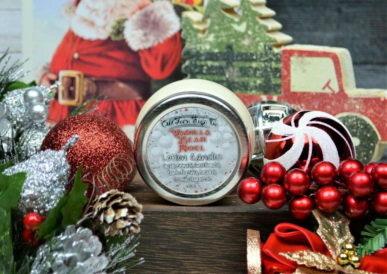 Vanilla Bean Noel -Lotion Candles