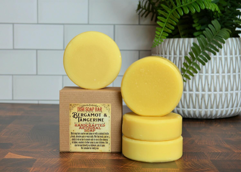 Bergamot & Tangerine -Dish Soap Bar