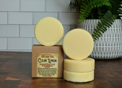 Clean Lemon -Dish Soap Bar
