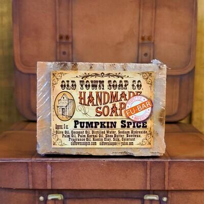 Pumpkin Pie Spice -FU Bar Soap