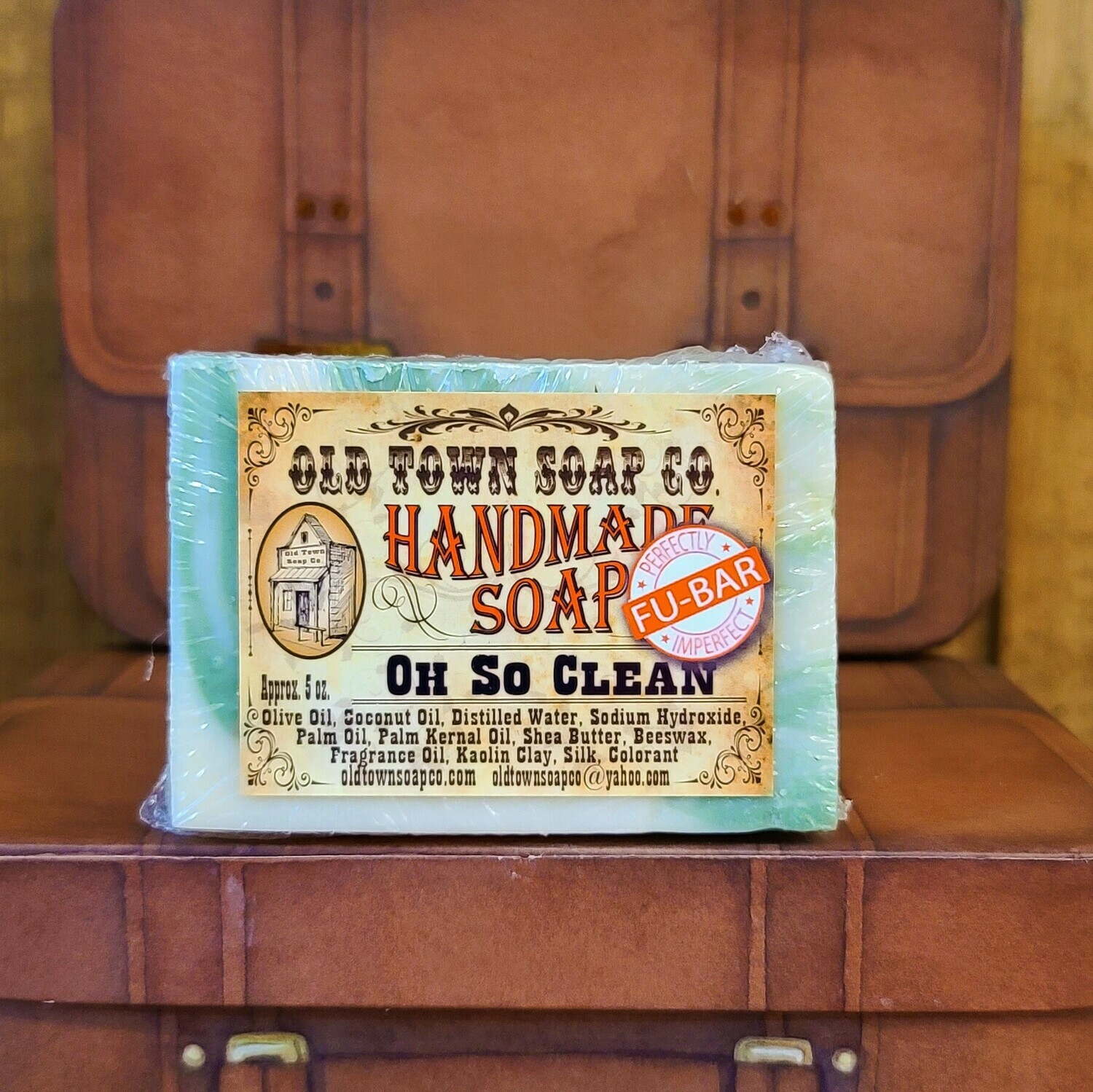 Oh So Clean -FU Bar Soap