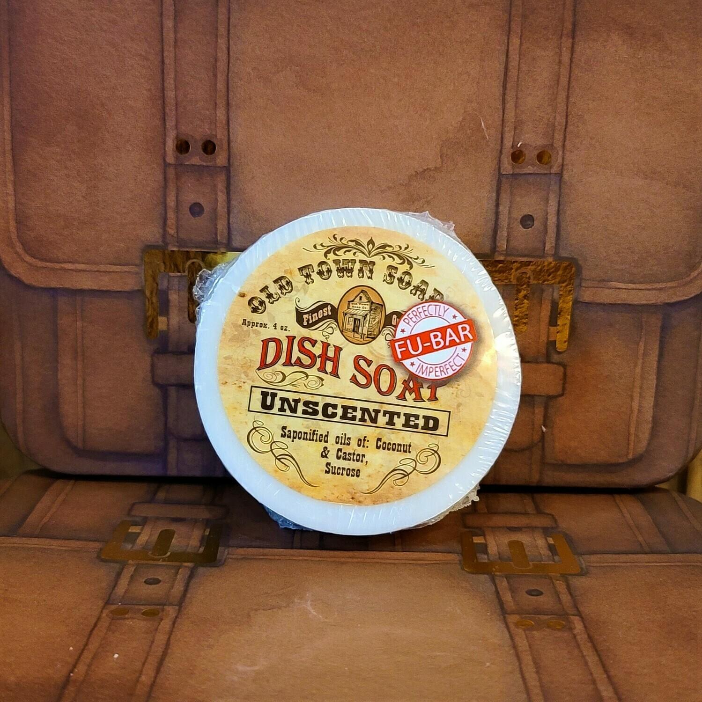 Unscented -FU Bar Dish Soap