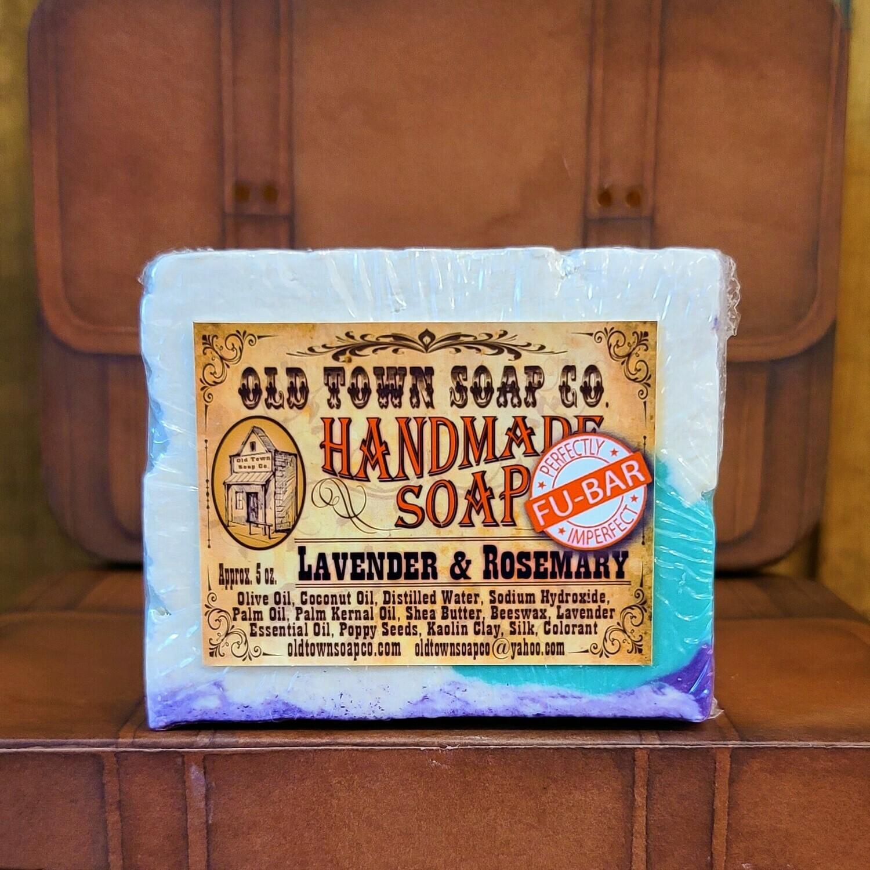 Lavender & Rosemary -FU Bar Soap