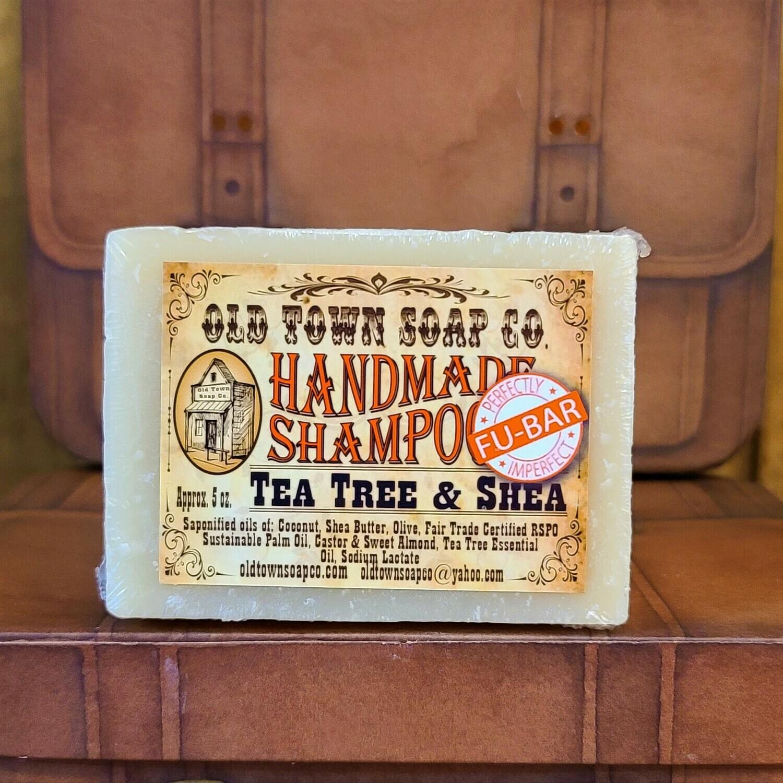 Tea Tree & Shea -FU Bar Shampoo Soap
