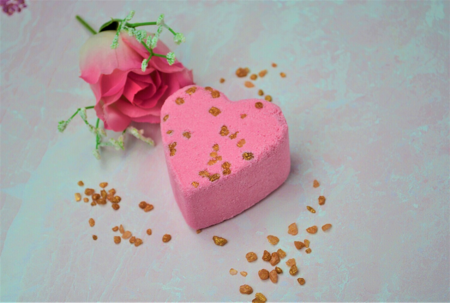 Maui Mist Heart Bath Bombs