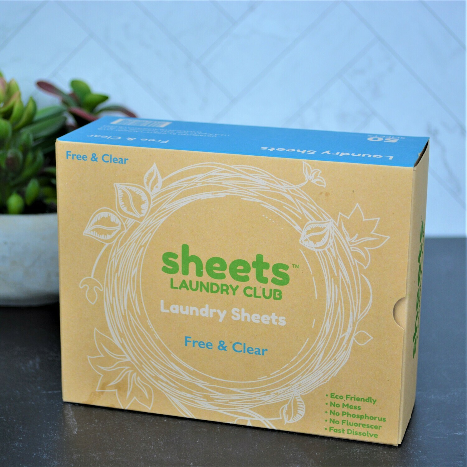 Free & Clear Laundry Detergent -Sheets
