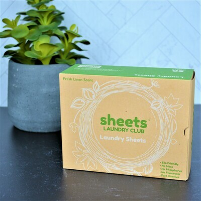 Fresh Linen Laundry Detergent -Sheets
