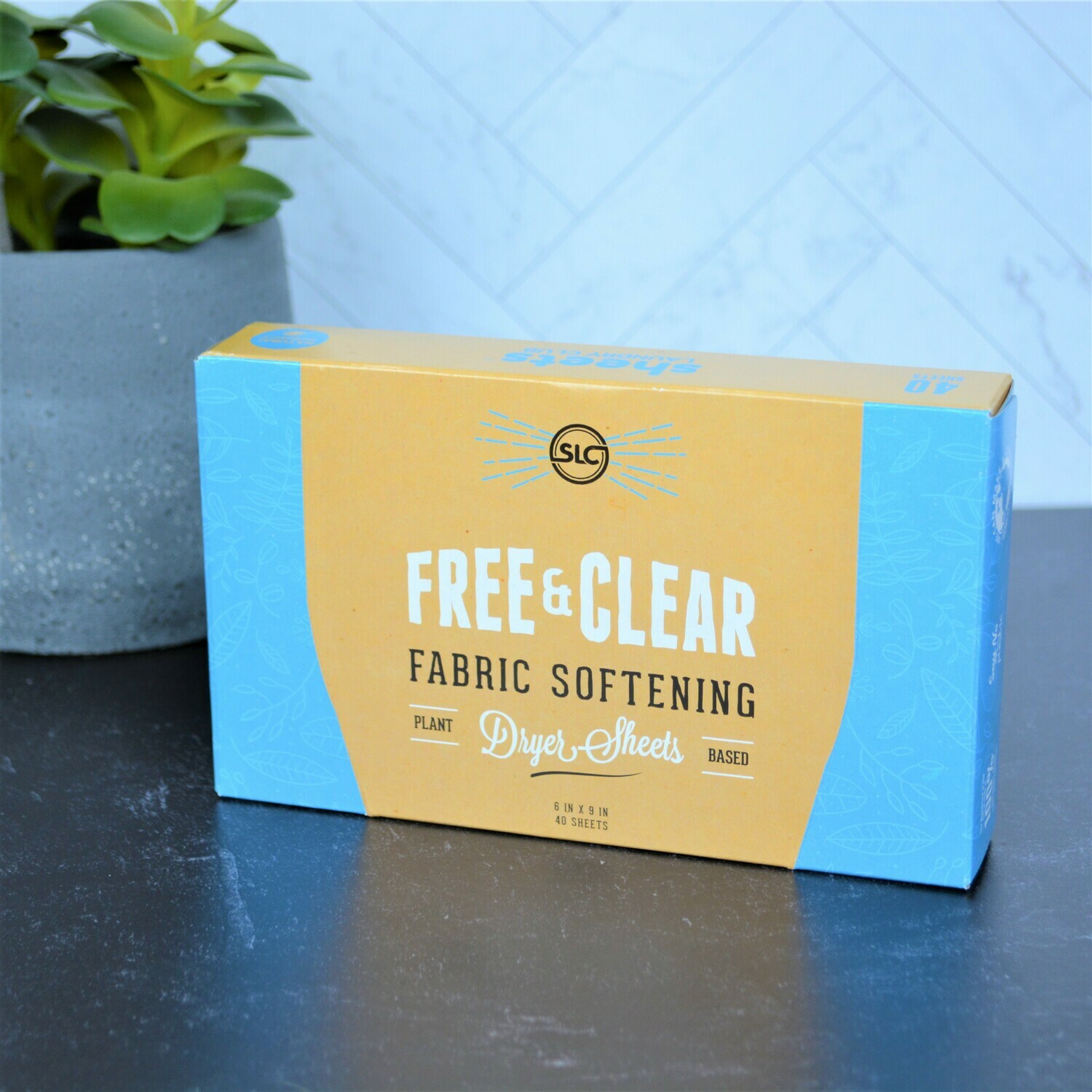 Free & Clear Dryer Sheets -Sheets