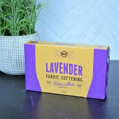 Lavender Dryer Sheets -Sheets