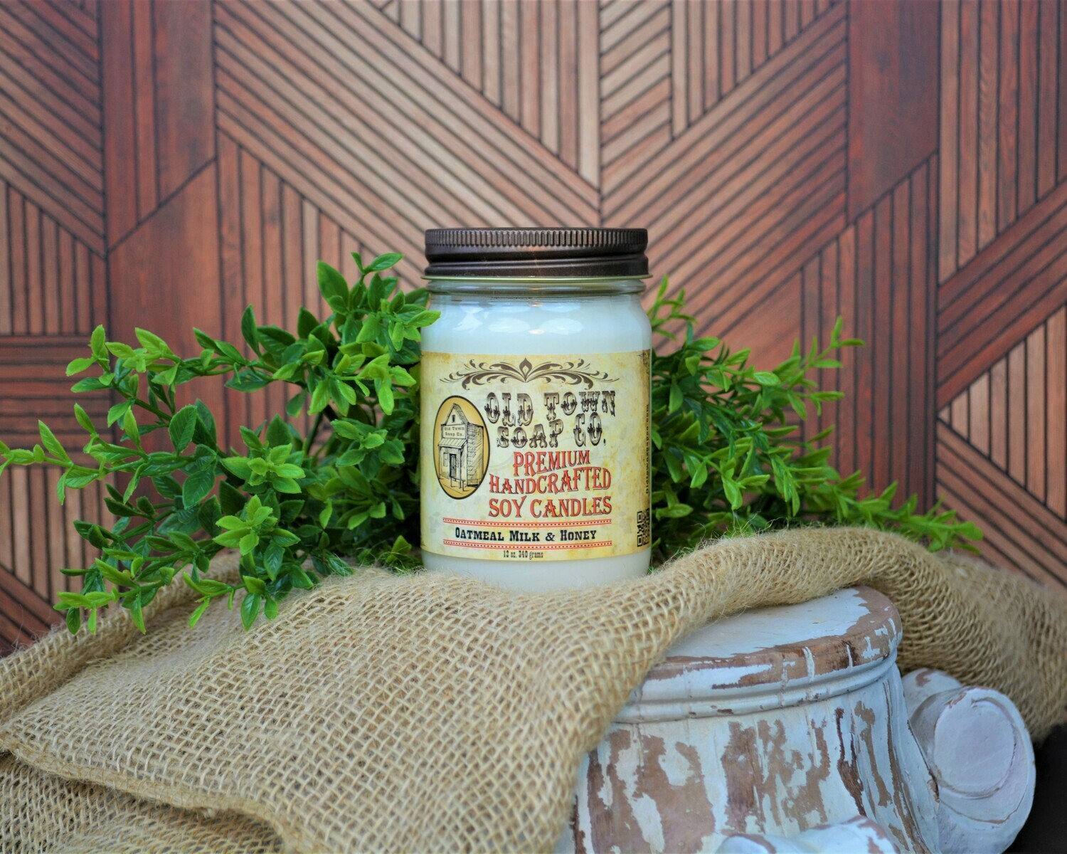 Oatmeal Milk And Honey - 12oz. Candles