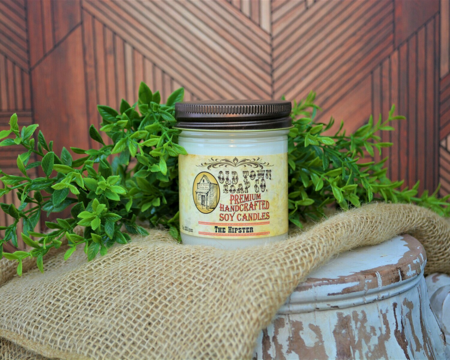 The Hipster - 8oz. Candle