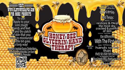 Honey Bee -2 oz Tube Hand Therapy