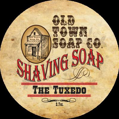 The Tuxedo -Shave Soap Tin