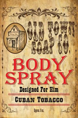 Cuban Tobacco -Body Spray