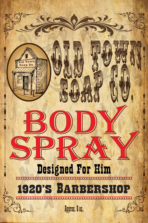 1920's Barbershop -Body & Hair Mist