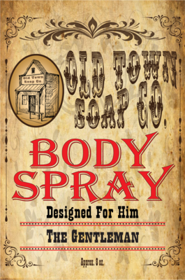 The Gentleman -Body Spray