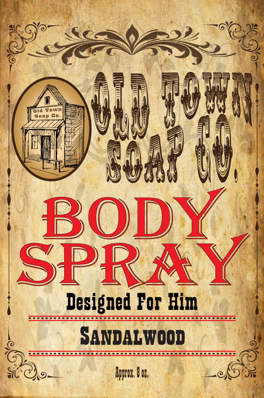 Sandalwood -Body Spray