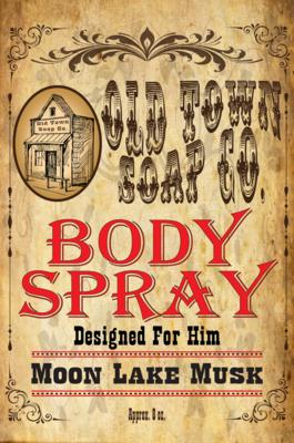 Moon Lake Musk -Body Spray