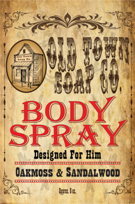 Oakmoss & Sandalwood -Body Spray