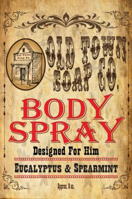Eucalyptus & Spearmint -Body Spray