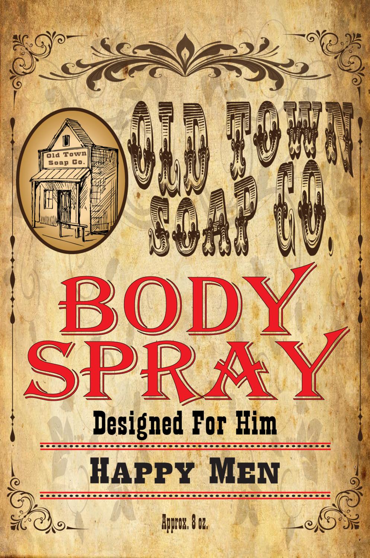 Happy Men -Body Spray