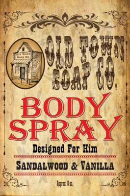 Sandalwood & Vanilla -Body Spray