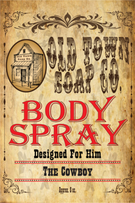The Cowboy -Body Spray