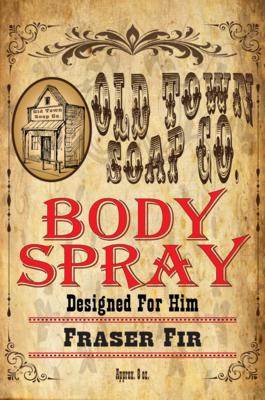 Fraser Fir -Body Spray