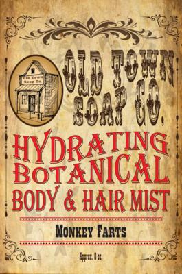 Monkey Farts -Body & Hair Mist