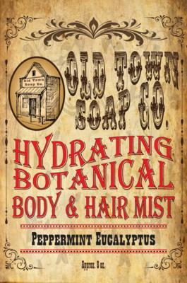 Peppermint Eucalyptus -Body & Hair Mist