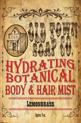 Lemongrass -Body & Hair Mist
