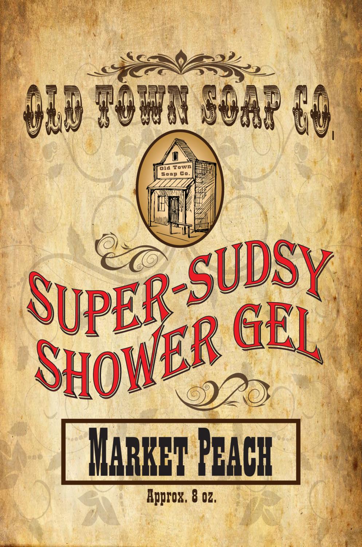 Market Peach -Shower Gel