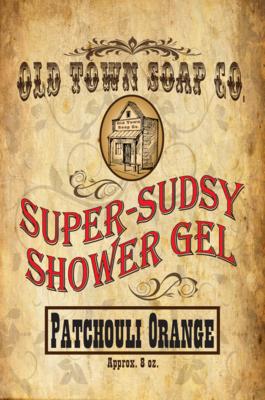 Patchouli Orange -Shower Gel