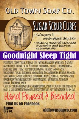 Goodnight Sleep Tight - Sugar Scrub Cubes