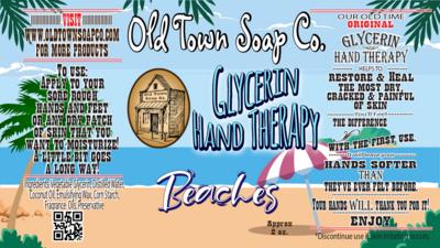 Beaches -2 oz Tube Hand Therapy