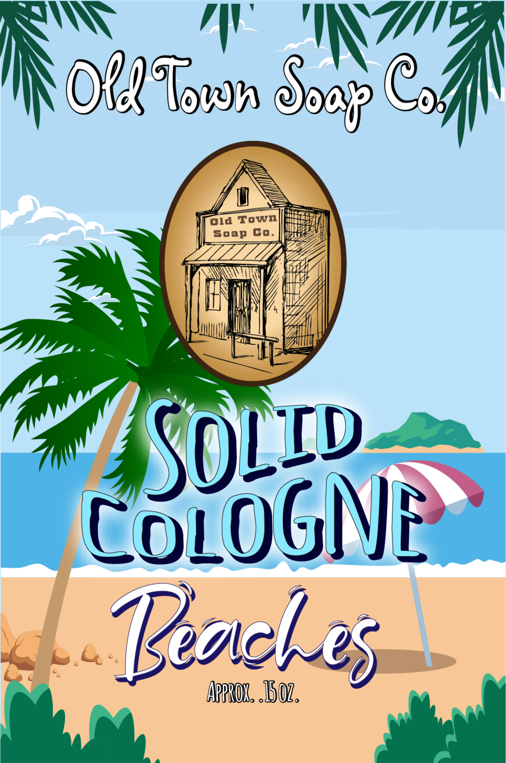 Beaches -Solid Cologne