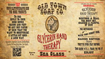 Sea Glass -2 oz Tube Hand Therapy
