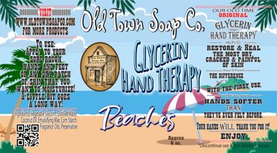 Beaches -6oz Tube Hand Therapy