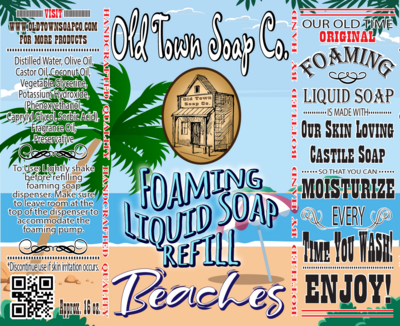 Beaches -Refill Liquid Soap