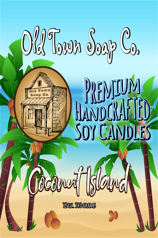 Coconut Island - 12oz. Candle