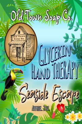 Seaside Escape -2 oz Tube Hand Therapy