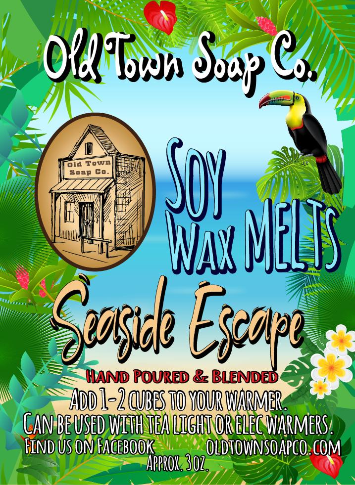 Seaside Escape -Wax Melts