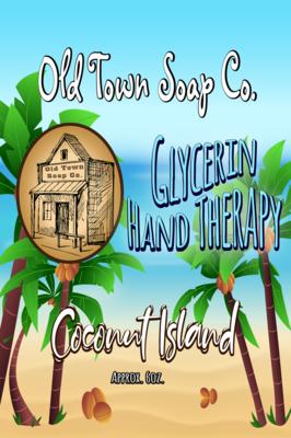 Coconut Island -6oz Tube Hand Therapy