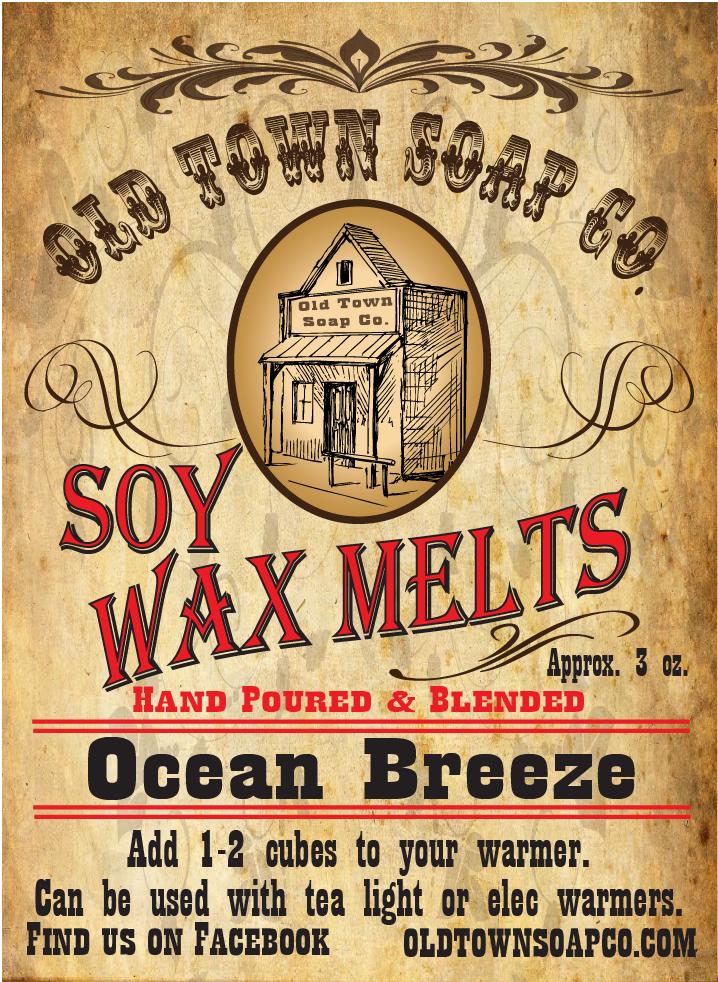 Ocean Breeze -Wax Melts