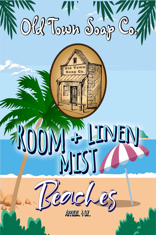 Beaches -Room+Linen Mist