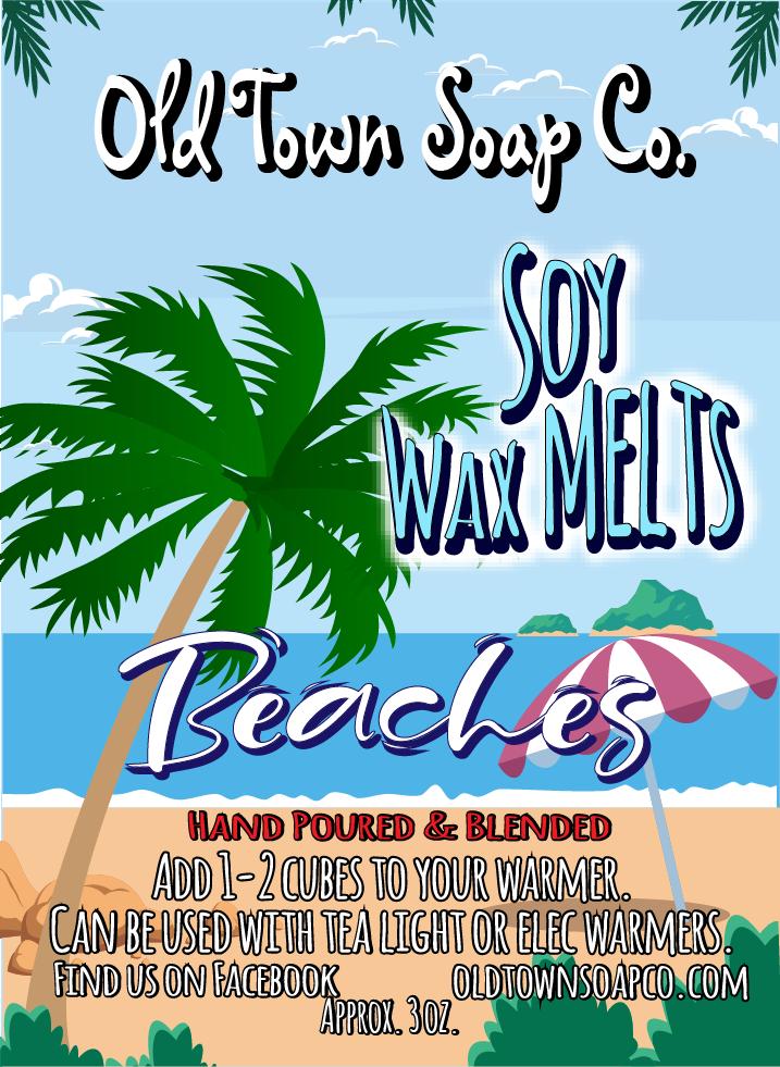 Beaches -Wax Melts