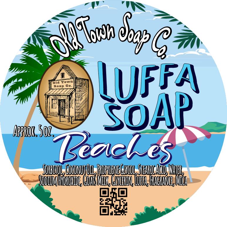 Beaches -Luffa Soap