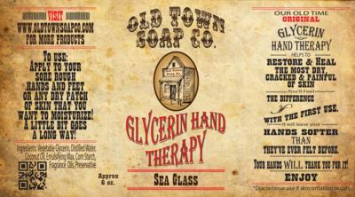 Sea Glass -6oz Tube Hand Therapy