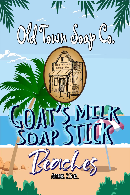 Beaches -Goat's Milk Soap Sticks